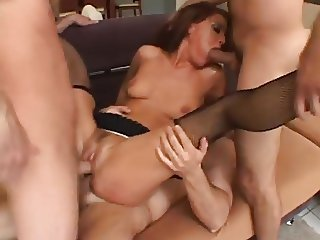 Hard Anal Pounding With Cum Swallow