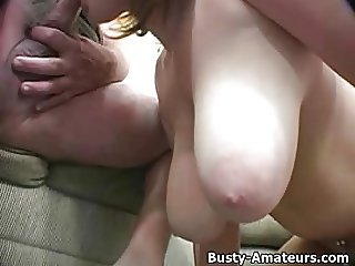 Busty Lisa on hot POV