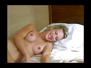 Blond hotwife cuckold fuck