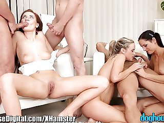 Anal Orgy for Horny European Swingers