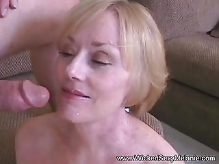 Amateur GILF Drains The Balls