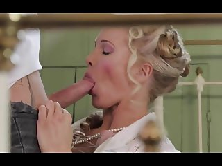 British MILF gets fucked in a dramatic scene