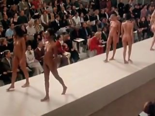 Famous Runway Nude Fashion Show
