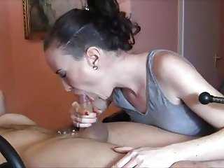 She Unloads His Cock