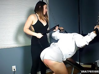 Red Ass by MissBratDom's Spanking
