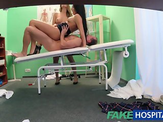 FakeHospital Doctor is up for a hot threesome