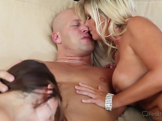 Lily Carter, Kristal Summers Share Cock