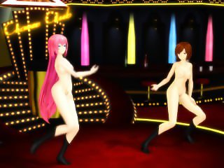 3D MMD Womanizer - Meiko and Luka