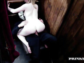 Nympho Blonde Satine Spark Is Cleansed By The Priest Big Dick