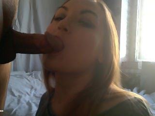 How To Fuck Stepsister's Mouth That She Like To Swallow