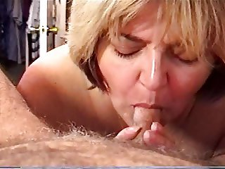 MILF Wife Sucking & Swallowing