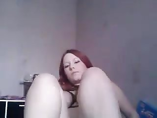 Redhead ginger kinky british cam girl