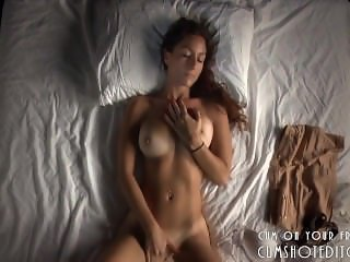 Gorgeous Brunette Masturbation Session