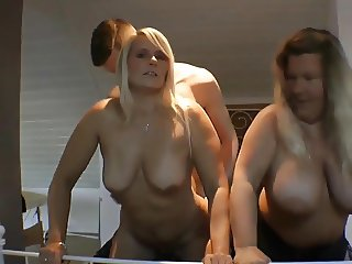 Group sex - Hot FFM threesome