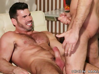 IconMale Young Lawyer Voyeur Sees Boss Cum on Another Man