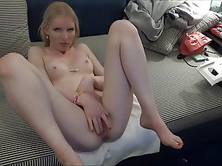 Horny angel & dirty grandpa in sex, indoor & outdoor