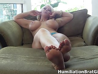 Ready to suck dick and be humiliated?