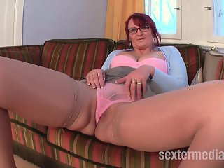 Old granny with young fucking fetish