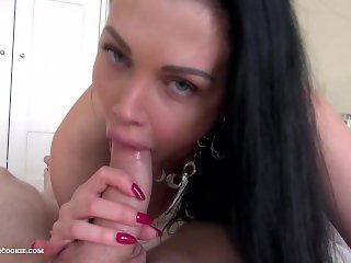 Dream gf Aletta Ocean wild POV fuck at home