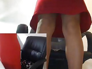 Office Girl Squirts 2