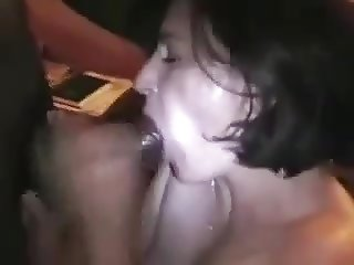 French Slut Wife Destroyed by 2 BBC