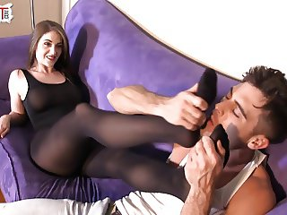 Lances Secret Foot Fetish For TerraMizu FOOT WORSHIP FEMDOM