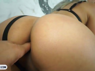 Tranny with big boobs blowjob and hardcore ass fucking
