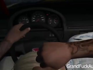 GTA 5 First Person SEX scene W hooker
