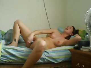 Pleasuring Her Hot Pussy