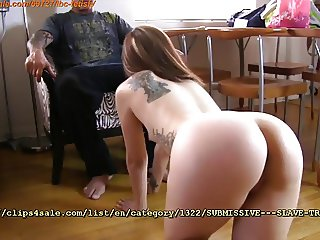 Submissive-Slave Training at Slips4sale.com