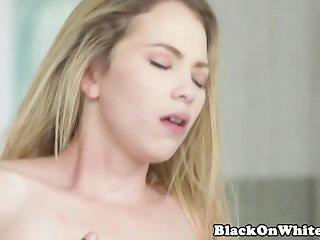 Skinny BBC cockrider enjoying reverse cowgirl