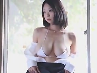 big soft boobs asian model posing down the street - cams444.com