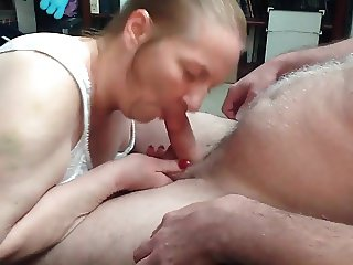 Granny with awesome blowjob skills