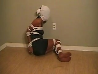 Tightly bound by lots of rope