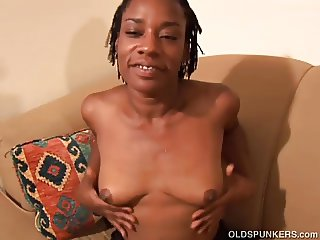 Cute black MILF wishes you were fucking her juicy pussy