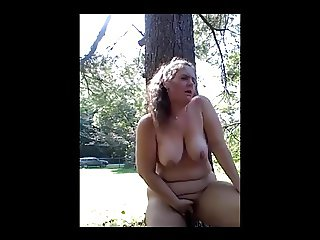 Lauren made to Masturbate Outdoors in Park