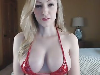 BEAUTIFUL BLONDE BOUNCING BOOBS -- mfl