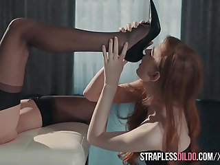 Mia Reese and Rossy Bush and Seductive Stockings