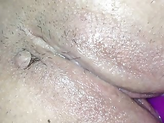 My wifes pussy and dildo