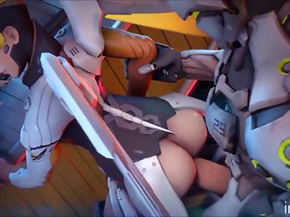 Mercy in Overwatch have sex