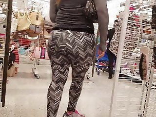 Great ass in leggings