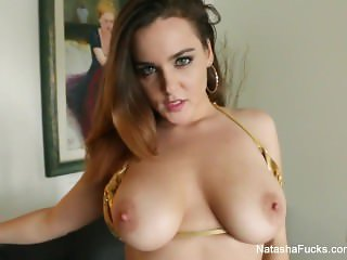 Natasha Nice returns with a sexy solo scene