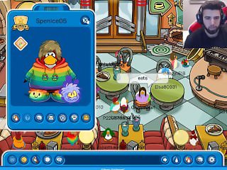 FaZe Apex gets kinky on club penguin