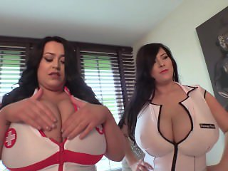 Huge boobed nurses