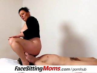 A boy with plumper amateur mom Danica cunnilingus
