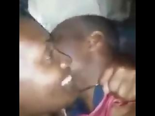 JAMAICAN SCHOOL TEACHER FUCKING HER STUDENT WHILE ON THE PHONE WITH HER MAN