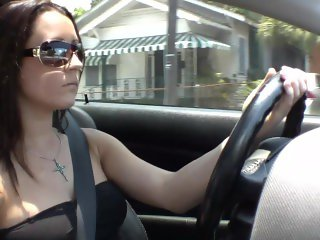 Girl that fell in love with my Acura RSX Type S I let her drive it hard