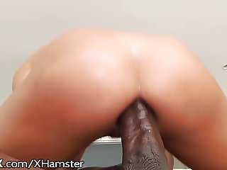 HardX Adriana Chechik Hungry For Huge Black Cock