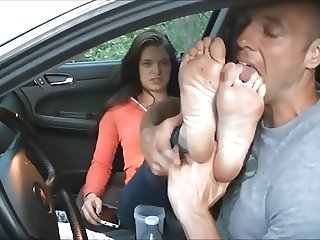 Pricess foot worship