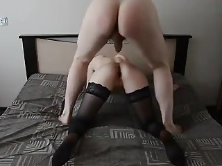 amateur on the bed